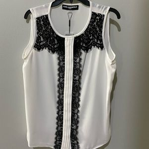 Brand New !! Karl Lagerfeld top